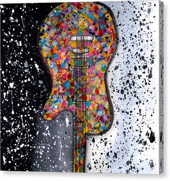 Punk Concept Painting 2 Canvas Print