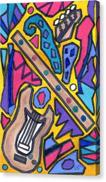 Punk Concept Painting 4 Canvas Print