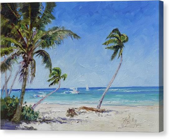 Canvas Print - Punta Cana Bavaro - Sea Beach 14 by Irek Szelag
