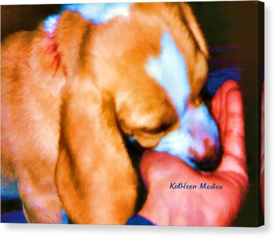 Puppy Time Canvas Print