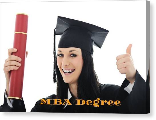 Mba Canvas Print - Purchase Fake Mba Degree Online  by Eva Taylor
