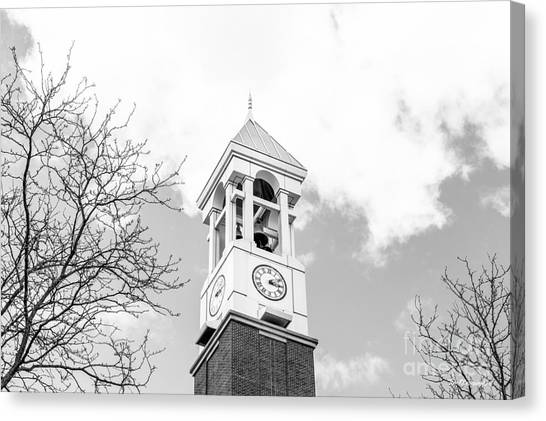 Purdue University Canvas Print - Purdue University Bell Tower by University Icons