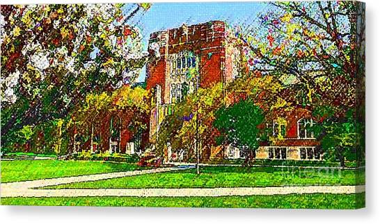 Purdue University Canvas Print