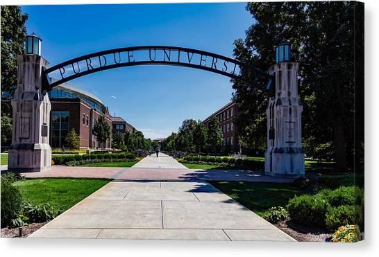 Purdue University Canvas Print - Purdue University by Mountain Dreams