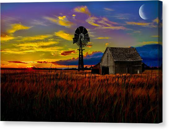 Pure Country Canvas Print