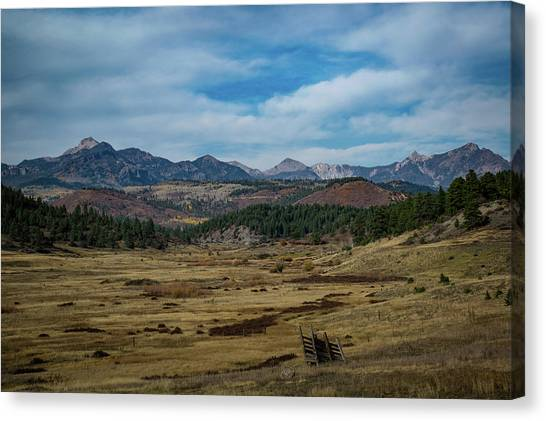 Canvas Print featuring the photograph Pure Isolation by Jason Coward