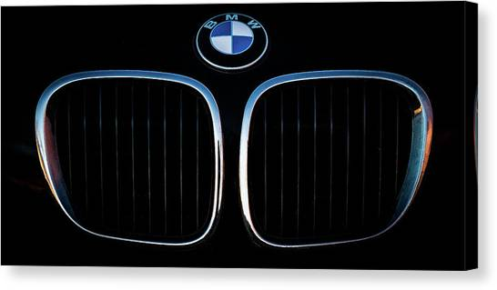 Pure Z3 - Bmw Z3 Grill And Roundel Canvas Print