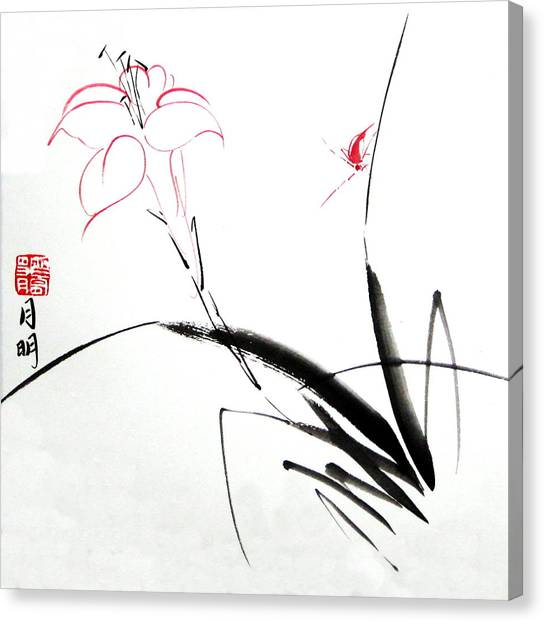 Purity Canvas Print by Ming Yeung