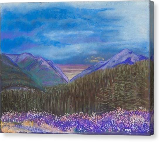 Purple Alaska Canvas Print