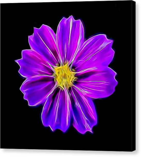 Purple Electric Canvas Print