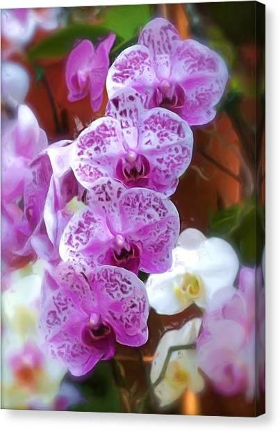Purple Flower Canvas Print by Ralph Liebstein