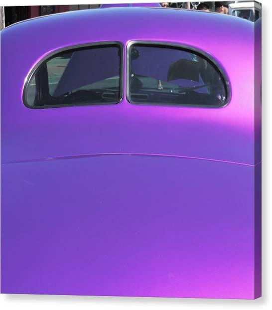 Purple Forty Canvas Print
