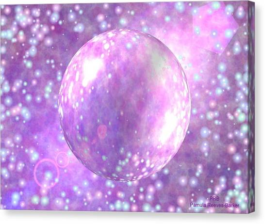 Canvas Print - Purple Fusion by Pamula Reeves-Barker