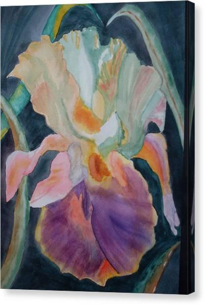 Purple Glory Canvas Print by Warren Thompson