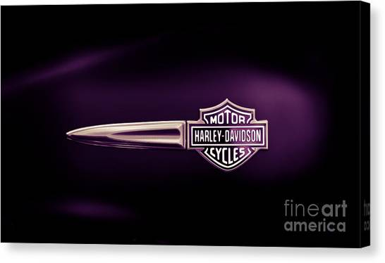 Tanks Canvas Print - Purple Haze by Tim Gainey