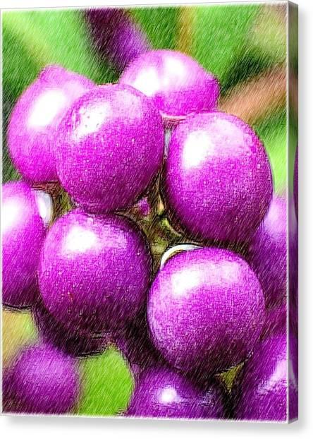Canvas Print - Purple by Kumiko Izumi