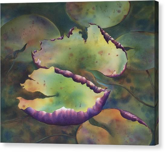 Purple Linings I Canvas Print