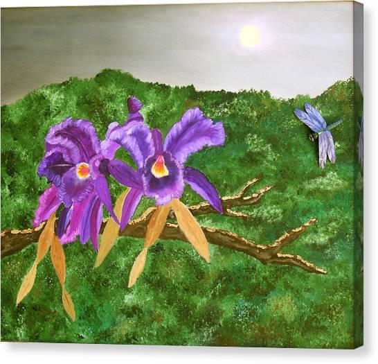 Purple Passion Canvas Print by Alanna Hug-McAnnally