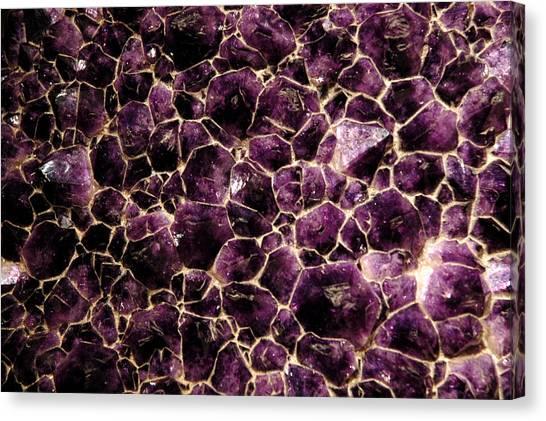 Smithsonian Museum Canvas Print - Purple Quartz  Amethyst by LeeAnn McLaneGoetz McLaneGoetzStudioLLCcom