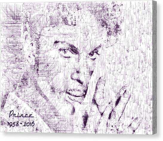 Purple Rain By Prince Canvas Print