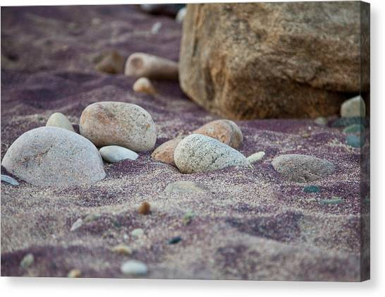 Purple Sand Canvas Print