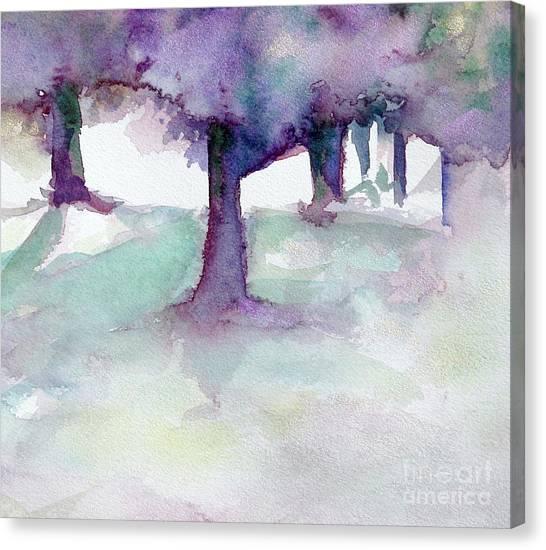 Purplescape II Canvas Print