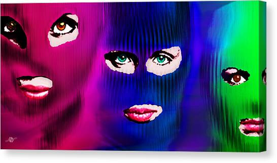 Pussy Riot Canvas Print