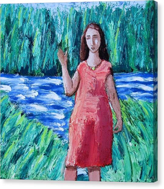 Putah Creek Canvas Print