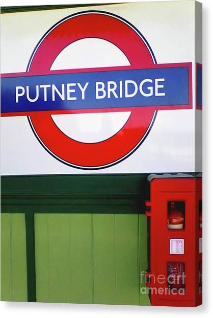 Putney Bridge Canvas Print