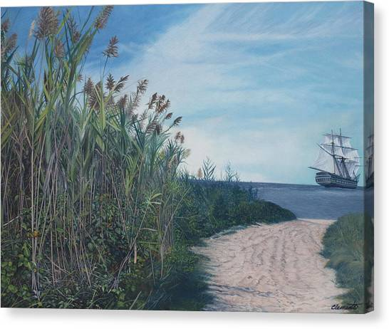 Putting Out To Sea Canvas Print