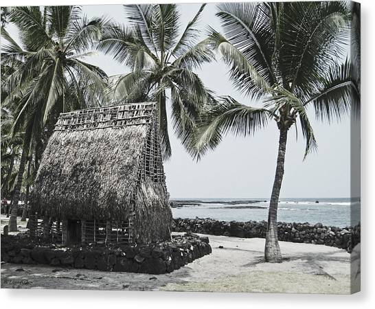 Pu'uhonua O Honaunau National Park Canvas Print