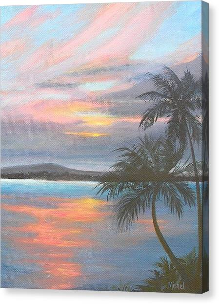 Pv Skies  Canvas Print