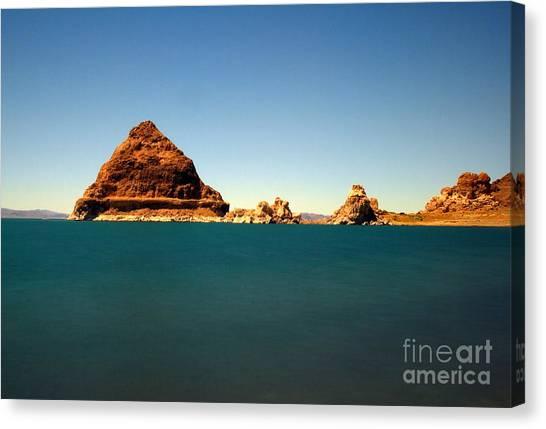 Pyramid Lake  Canvas Print