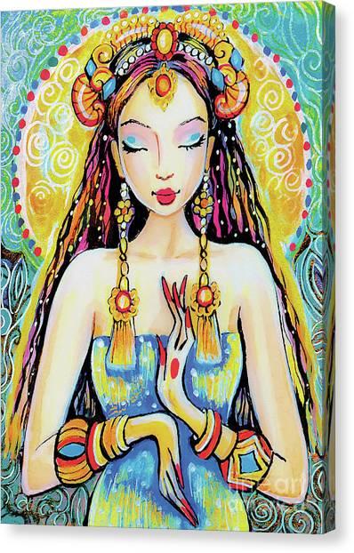 Quan Yin Canvas Print