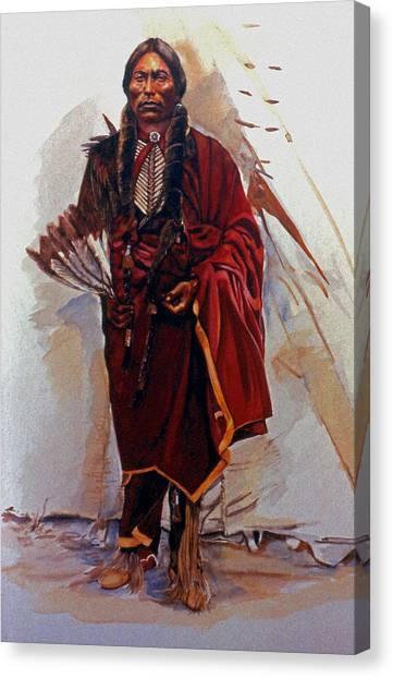 Quannah Parker Canvas Print