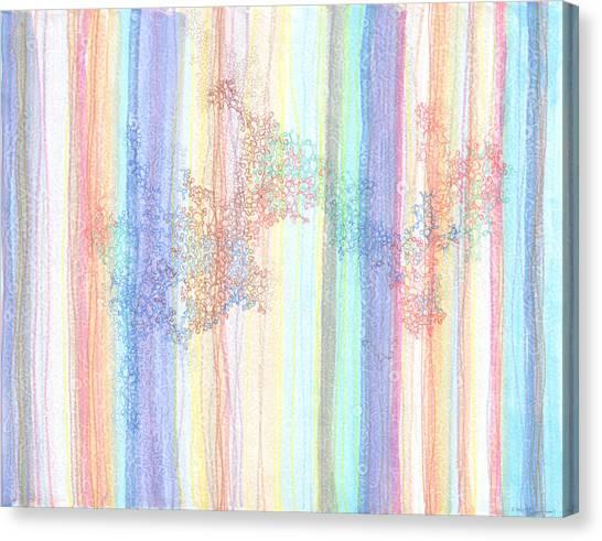 Quantum Foam Canvas Print