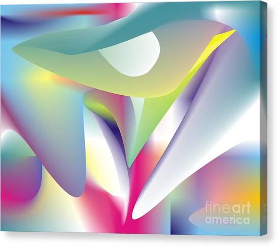 Quantum Landscape 5 Canvas Print