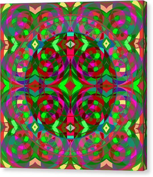 Quantum Portal C Open Canvas Print