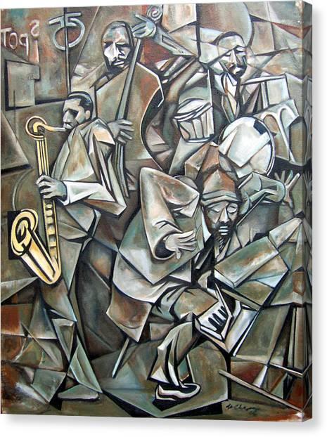 Quartet 1958 Canvas Print by Martel Chapman