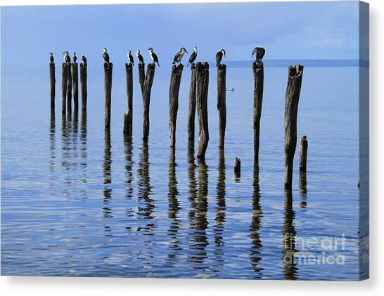 Quay Rest Canvas Print