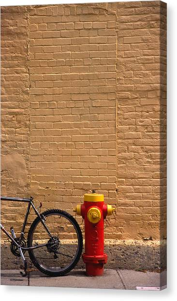 Quebec Hydrant Canvas Print by Art Ferrier