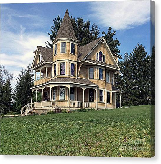 Turret House Canvas Print