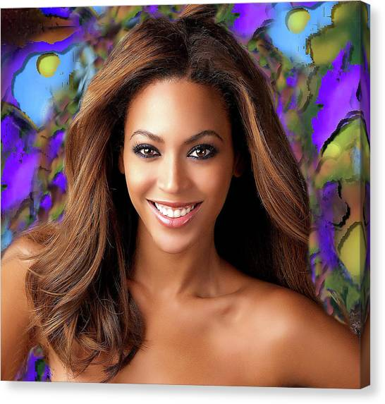 Queen Beyonce Canvas Print