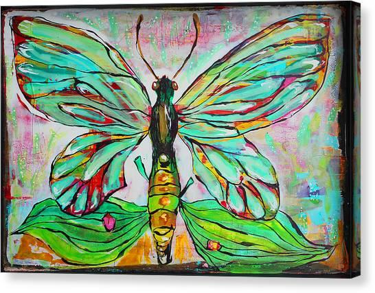 Queens Canvas Print - Queen Birdwing by DAKRI Sinclair