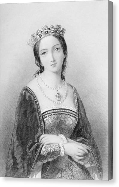 Bloody Mary Canvas Print - Queen Mary I, Aka Mary Tudor, Byname by Vintage Design Pics