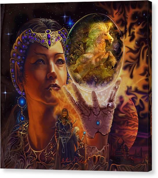 Queen Of Air Canvas Print