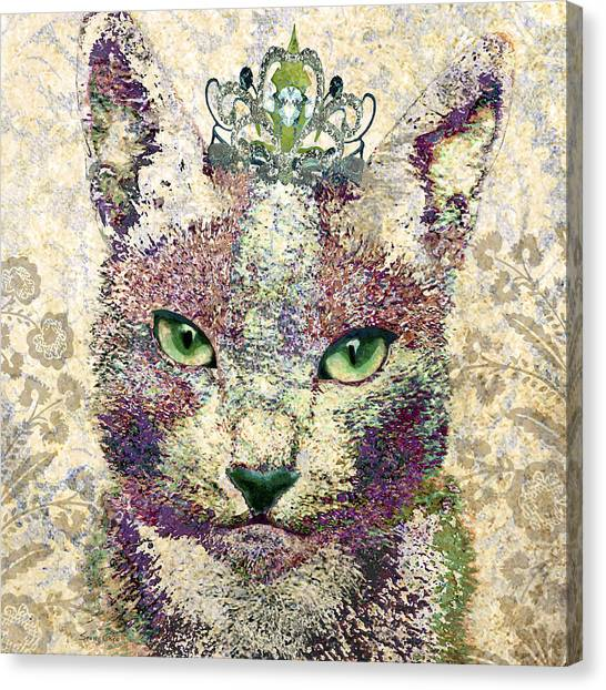 Chartreuxes Canvas Print - Queen Of Catwalk by Stacey Chiew