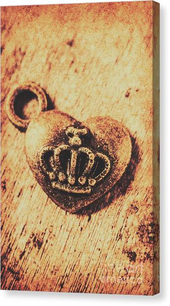 Present Canvas Print - Queen Of Hearts Charm by Jorgo Photography - Wall Art Gallery