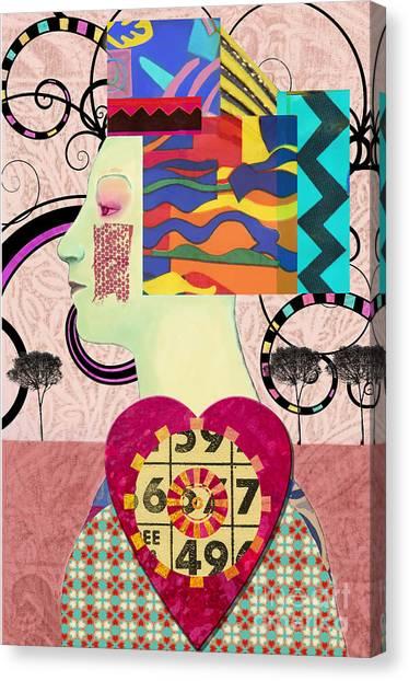 Queen Of Hearts Custom Order Canvas Print