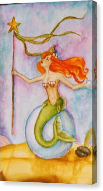 Queen Of Staves, Milandra Canvas Print